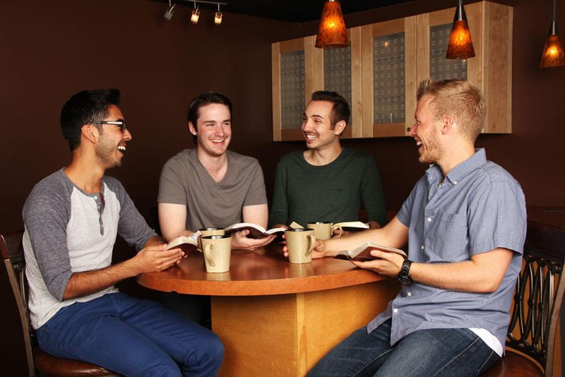 men's group session